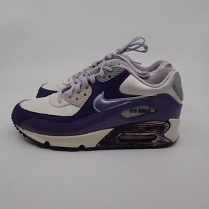 Nike Airmax 90 Purple Sneakers 4Y - EUC